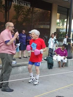 SeniorCare Boxing Match
